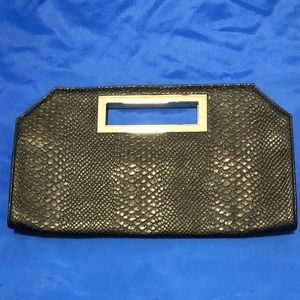 Black clutch from express